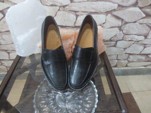 leather404 Clothing, Shoes & Accessories:Men's Shoes:Dress Shoes Loafers Casual Black Shoes