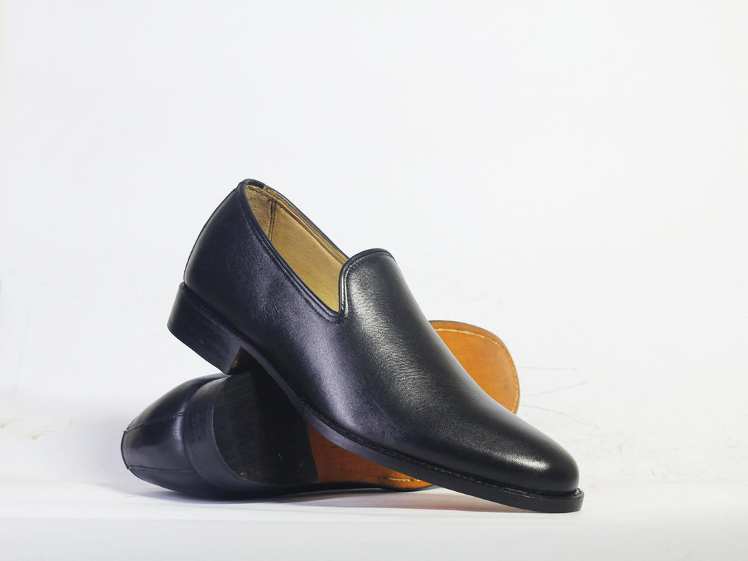 leather404 Clothing, Shoes & Accessories:Men's Shoes:Dress Shoes Handmade Black Loafers Shoes For Men's