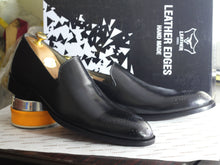 leather404 Clothing, Shoes & Accessories:Men's Shoes:Dress Shoes Handmade Black Brogue Toe Leather Men's Loafers Shoes
