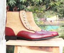 leather404 Clothing, Shoes & Accessories:Men's Shoes:Boots Ankle boots for men's