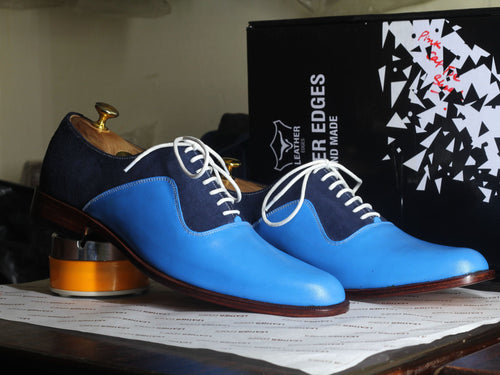 shoes casual two tone dress shoes casual dress shoes shoes dress Blue shoes Lace up shoes Stylish shoes Formal shoes Men's Bespoke shoes Designer shoes Leather shoes Handmade shoes Blue Shoes party shoes shoes oxfords Two tone shoes Mens Dress Shoes Blue shoes Handmade shoes Lace up shoes Men's shoes