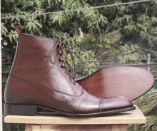 leather404 Clothing, Shoes & Accessories:Men's Shoes:Boots Brown Ankle boots for men