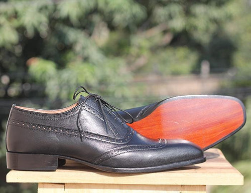 leather404 Clothing, Shoes & Accessories:Men's Shoes:Dress Shoes Square Toe Men's Black Leather Shoes