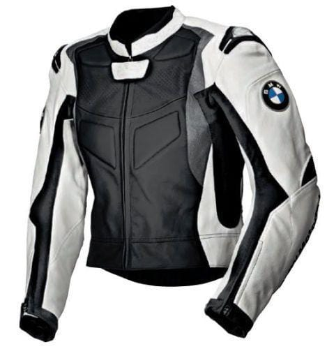 leather404 Clothing, Shoes & Accessories:Men's Clothing:Coats & Jackets s Men's Black White Motorcycle Racing Biker Leather Jackets