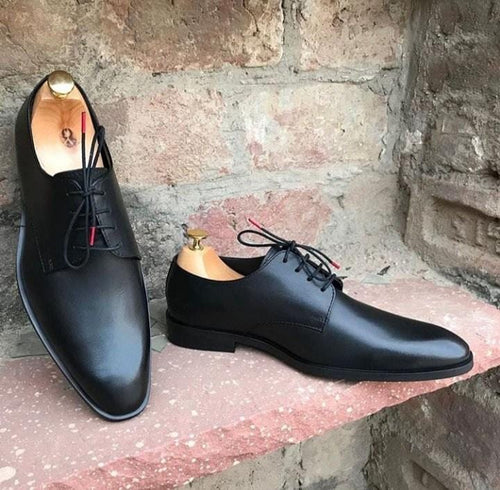 leather404 Clothing, Shoes & Accessories:Men's Shoes:Dress Shoes usa-7 Men's Leather Derby Shoes dress Shoes