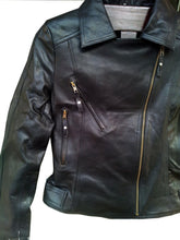 leather404 Clothing, Shoes & Accessories:women's Clothing:Coats & Jackets Handmade Women Black Simple Brando Style Leather Jacket, Women leather jackets