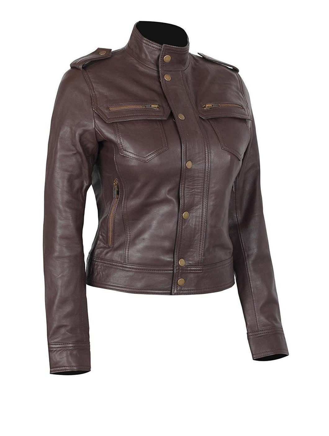 leather404 Clothing, Shoes & Accessories:women's Clothing:Coats & Jackets s Handmade Rise of The Tomb Raider Lara Croft Women's Brown Leather Jacket