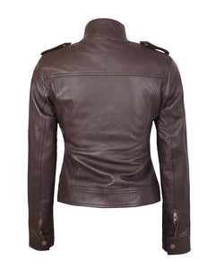 leather404 Clothing, Shoes & Accessories:women's Clothing:Coats & Jackets Handmade Rise of The Tomb Raider Lara Croft Women's Brown Leather Jacket