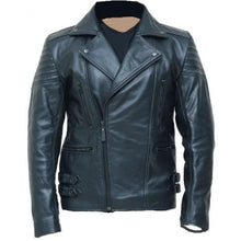 leather404 Clothing, Shoes & Accessories:Men's Clothing:Coats & Jackets s Handmade black biker leather jacket special limited edition Jacket
