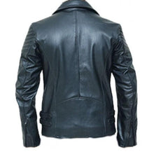 leather404 Clothing, Shoes & Accessories:Men's Clothing:Coats & Jackets Handmade black biker leather jacket special limited edition Jacket