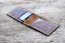 leather404 wallet Hand Stitched PERSONALIZE Leather wallet, Men Leather Front Pocket Card Holder, Men Card Holder, Gift Wallet, Hand Stitched - Listing # 2040