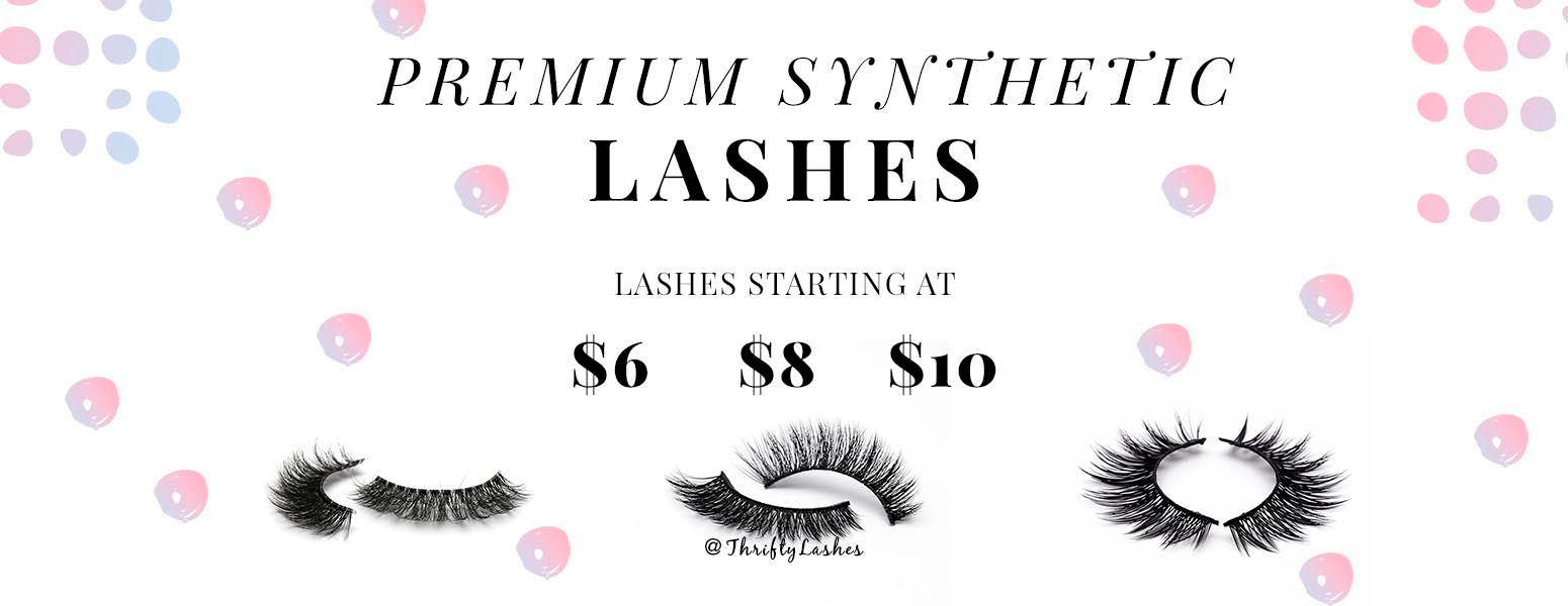 Premium Synthetic eye lashes with thrifty deals