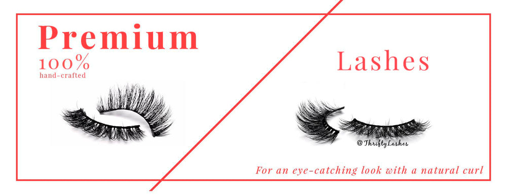 Premium Lashes on sale only at Thrifty Lashes