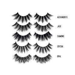 Thrifty Lashes 3D Silk Popular Lashes Bundle | 100% cruelty free fake eyelashes | Cheap lashes online | Fast delivery