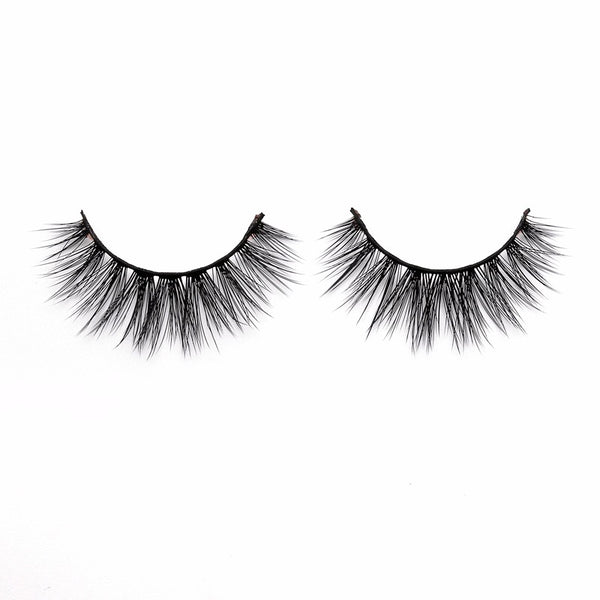 Ebony by Thrifty Lashes | Best 3D Silk Fake Eyelashes Online