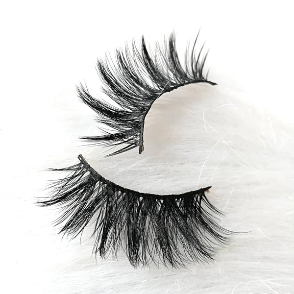 Blue Dream by Thrifty Lashes | 25mm Faux Mink False Eyelashes