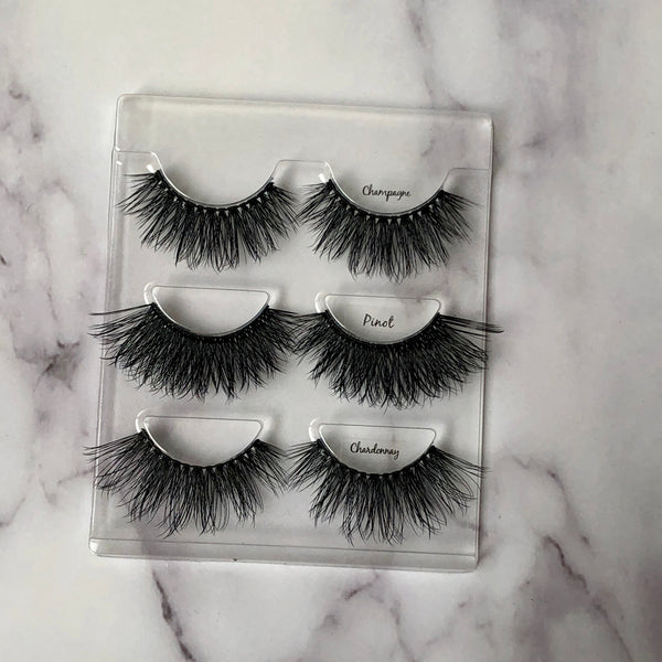 Thrifty Lashes | 3D Silk Fake Eyelashes | Cruelty Free Makeup |