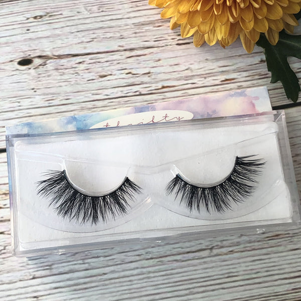 Bday Queen by Thrifty Lashes | 3D Silk Fake eyelashes | cruelty free False eyelashes