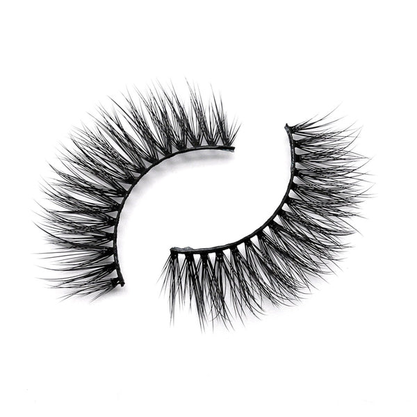 Citrine 3D silk fake eyelash by thrifty lashes