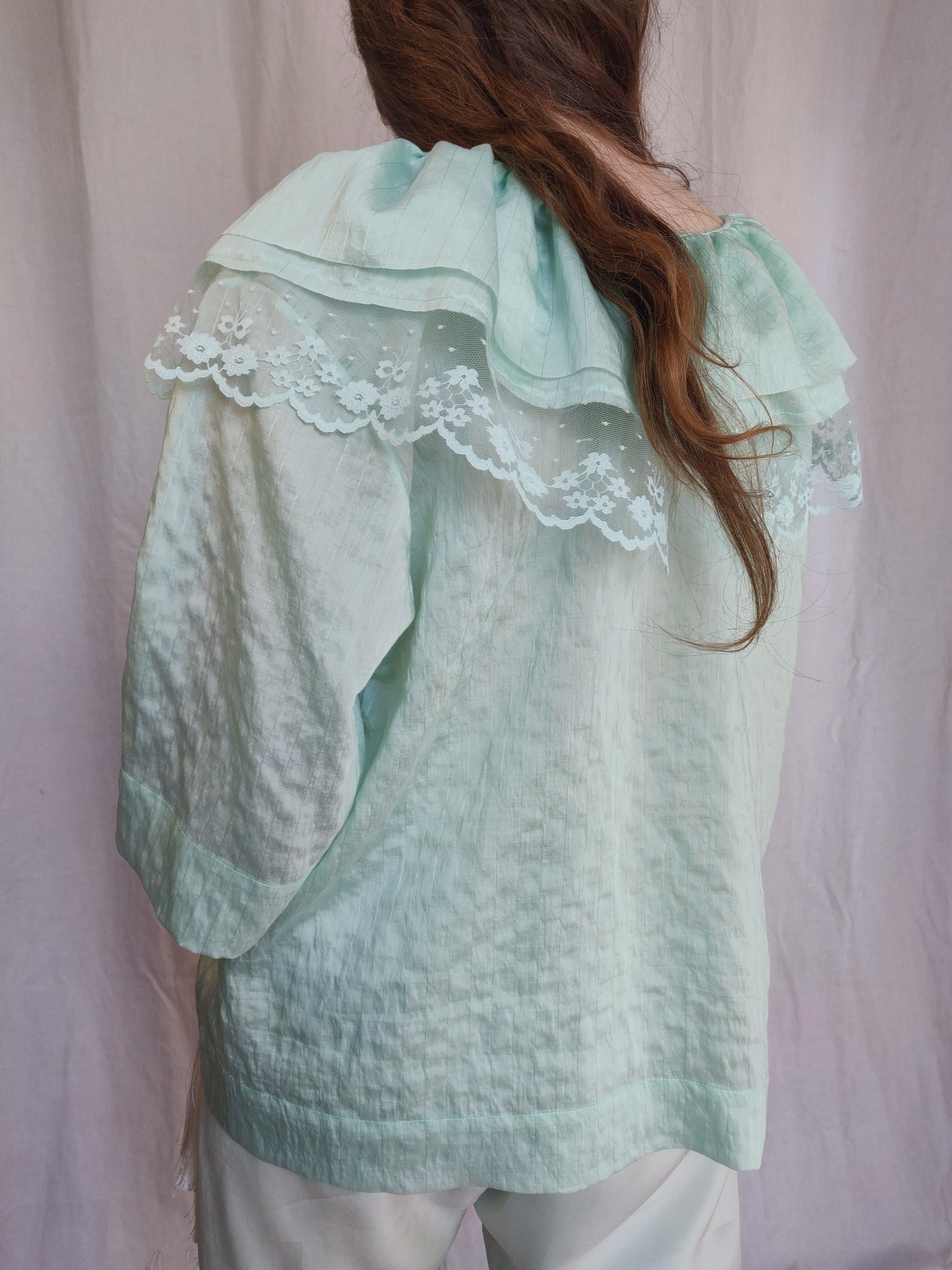 Mint Batiste blouse