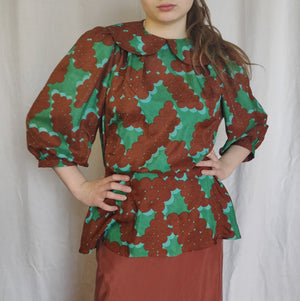 73-37 Silk blouse