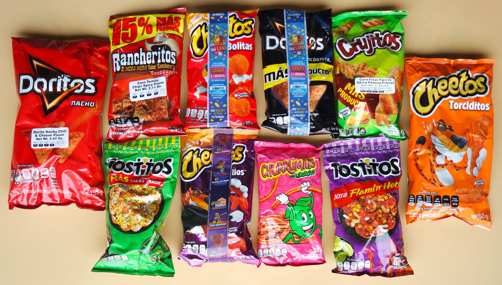 What is the hype behind Mexican Sabritas (chips)?