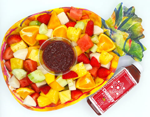 Chamoy Azteca pairs great with fruit