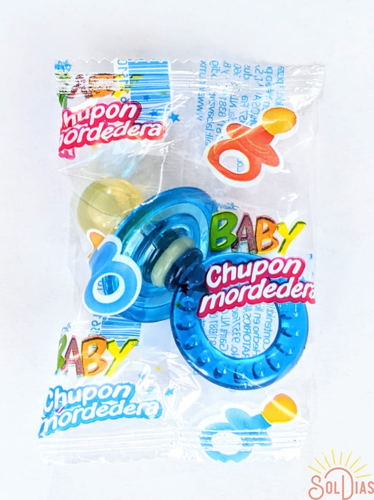 Blue Baby Pacifier Teeth | Chupon Mordedera