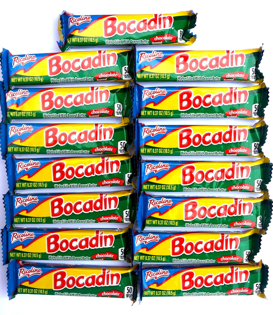 Bocadin Chocolate Wafer 15 ct | Mexican Chocolate - Sol Dias