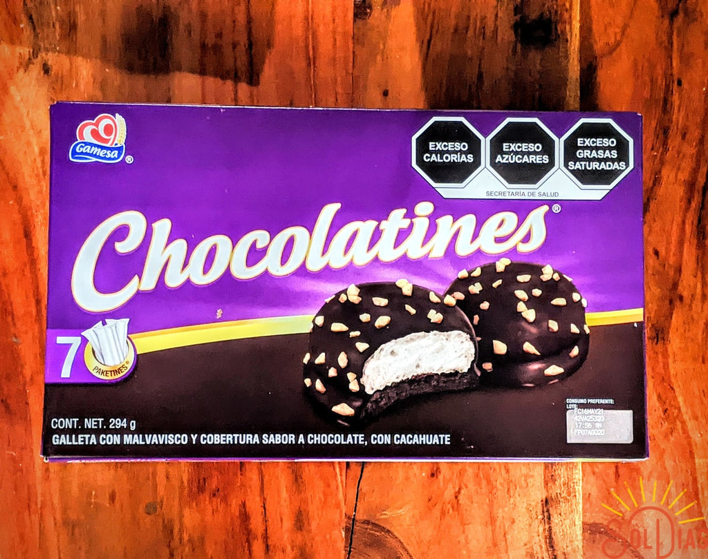Chocolatines Galletas 294g | Chocolate Marshmallow Cookies - Sol Dias