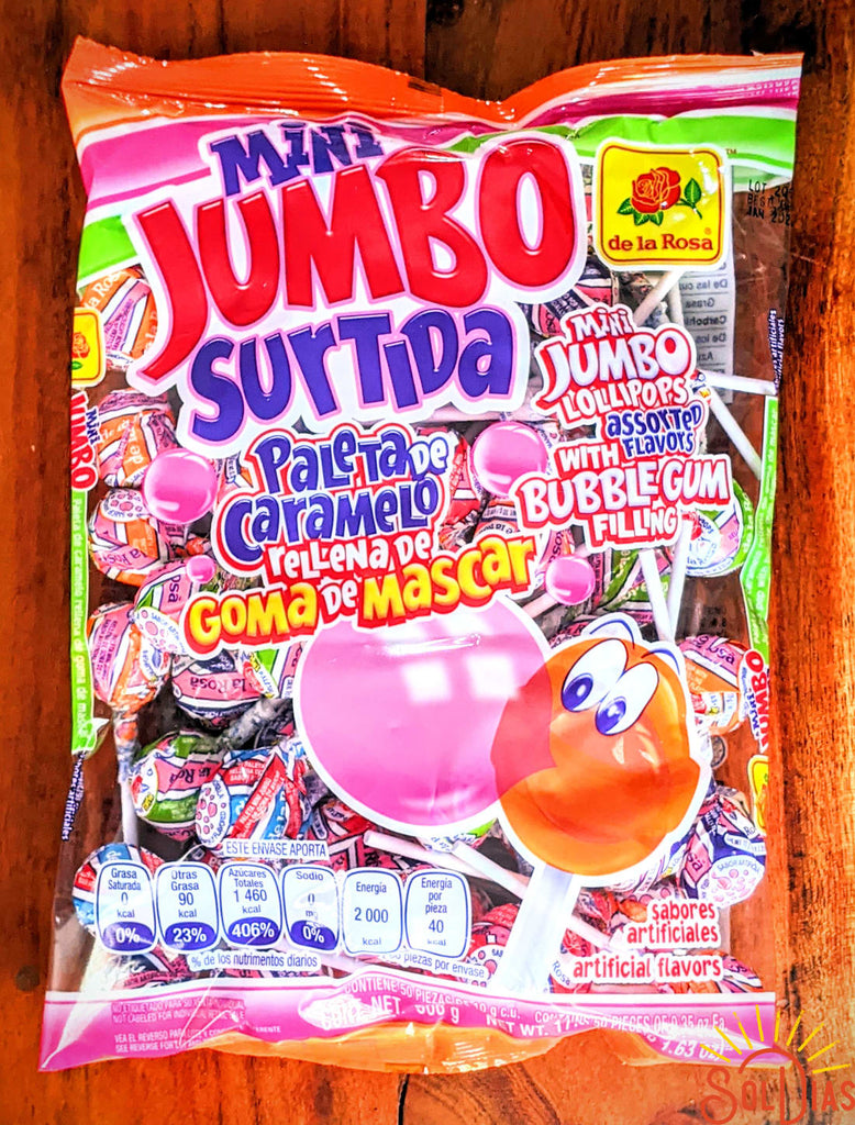 paleta mini jumbo cereza