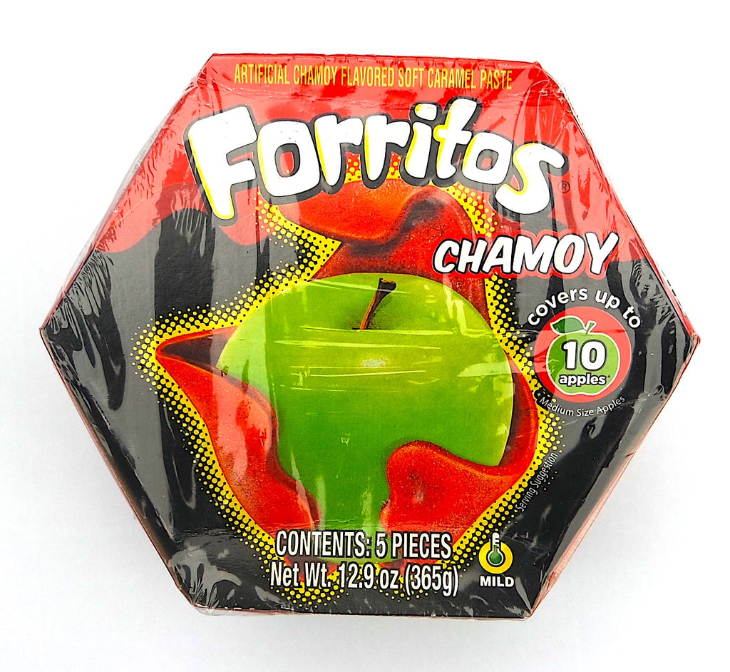 Zumba Forritos Chamoy 12.9 oz 5-pack | Mexican Candy Apple Cover - Helados La Azteca