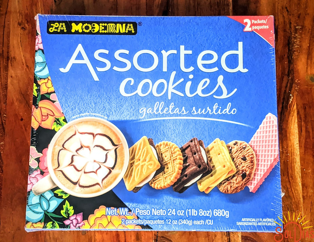 La Moderna Galletas Surtido 24oz | Mexican Assorted Cookies Mix - Sol Dias