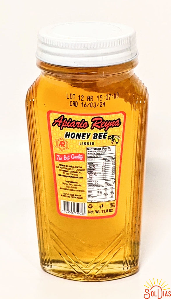 Apiario Reyna Honey Bee | Miel de Abeja 11.8 oz - Sol Dias