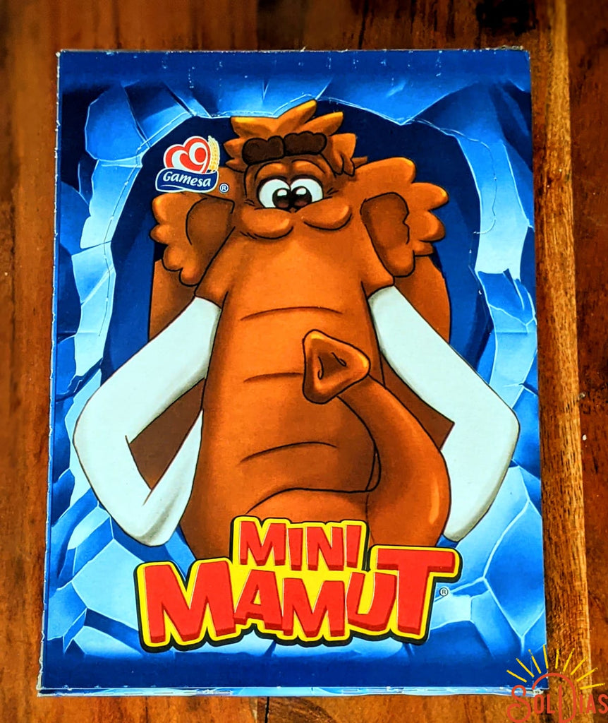 Mini Mamut 28ct 336g | Mexican Cookies Chocolate