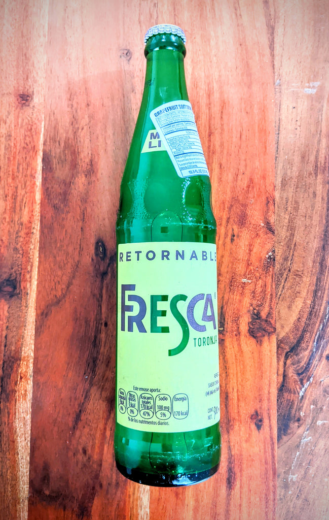 Fresca Medio Litro | Imported Mexican Soda Glass Bottle - Sol Dias
