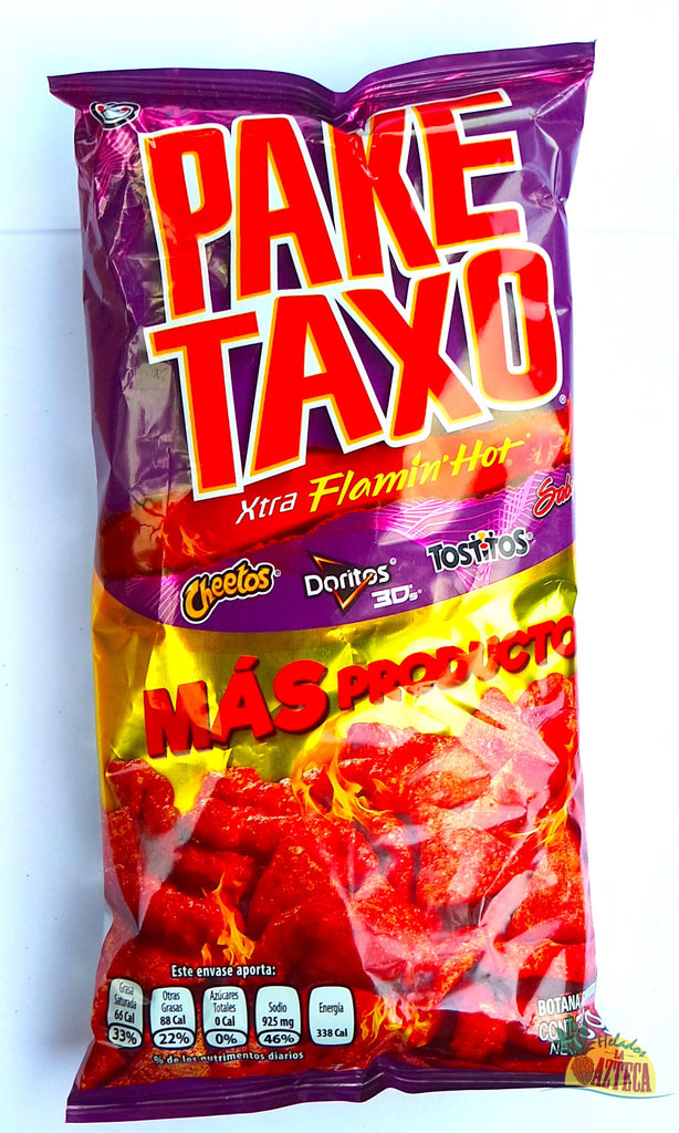 PakeTaxo Xtra Flamin Hot 73g | Variety Mexican Chip Bag - Sol Dias