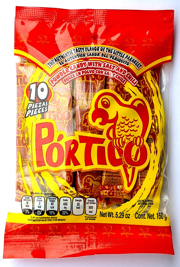 Portico Powder Candy 10 ct | Mexican Polvo Dulce - Sol Dias