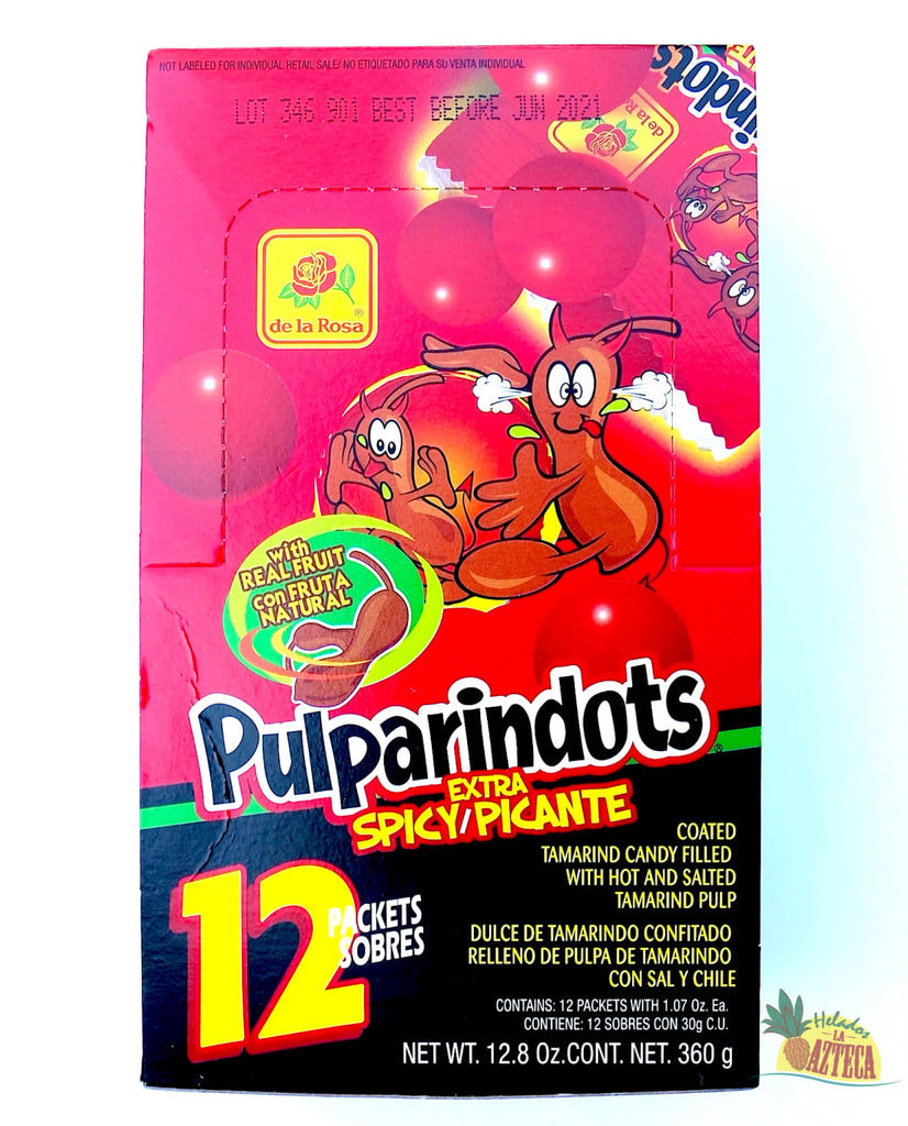 Pulparindots Ultra Spicy 12 ct | Soft Mexican Candy - Sol Dias