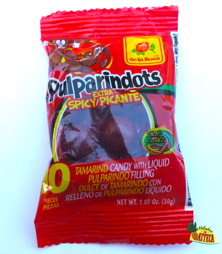 Pulparindots Ultra Spicy 12 ct | Soft Mexican Candy - Helados La Azteca