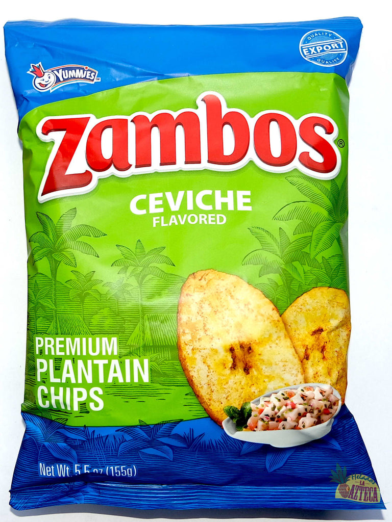 Zambos Ceviche 5.5oz | Crunchy Spicy Plantain Chips - Sol Dias