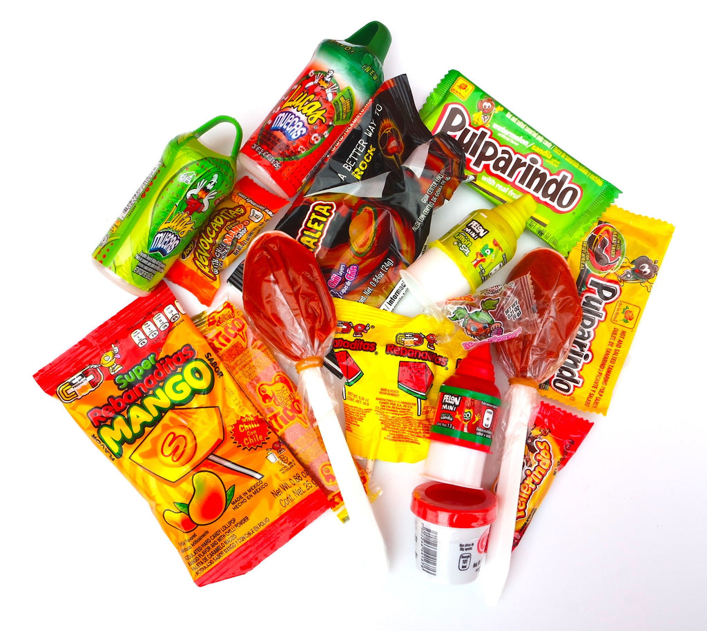 Mexican Spicy Candy Combo 15 pieces - Sol Dias