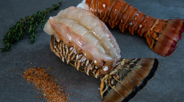 Lobster Tail De-shelling and Prep