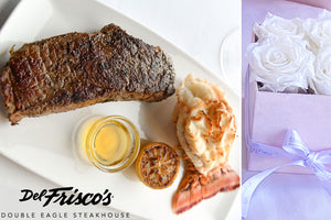 Del Frisco's Mother's Day Dinner + Eternal Fleur Everlasting Flowers