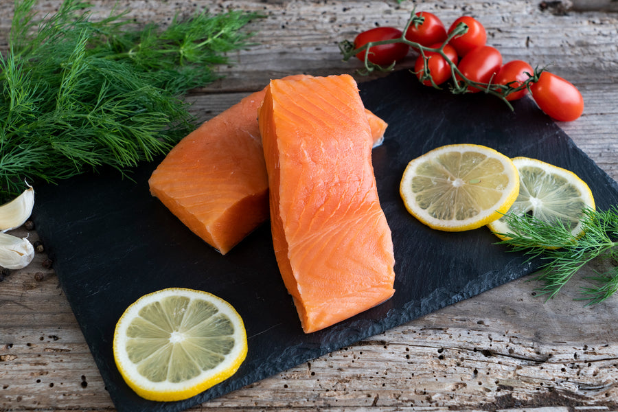New Zealand Skin-On King Salmon Fillets