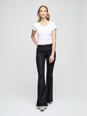 L'AGENCE Bell Coated Jean (Noir)