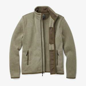 Filson Ridgeway Fleece Ducks Unlimited Jacket (Vintage Olive)