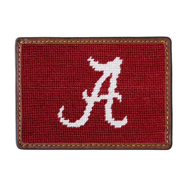 Smathers & Branson Needlepoint Tennessee Card Wallet (Alabama)