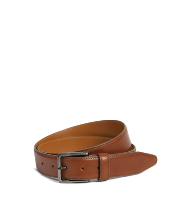 H.S. Trask Flint Belt (Tan)