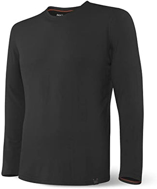 SAXX Men's Sleepwear Long Sleeve Tee (Black)